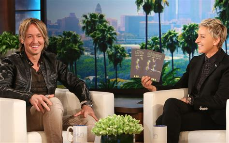 keith urban ellen degeneres keith urban talks about his late father s influence on his