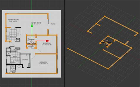 home design 3d import blueprint create a 3d floor plan model from an architectural