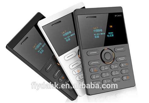 Ifcane E1 Card Phone Ultra Thin new style small size ifcane e1 mini card mobile phone