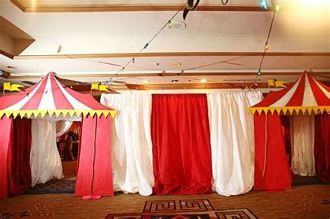 Circus Tent Decorations by Circus Decorating Circus