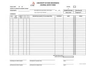 Blank entry form template 9 best images of printable journal entry