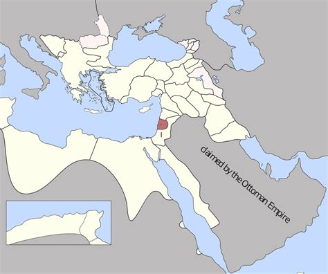 The Ottoman Empire Was Located In Sidon Eyalet