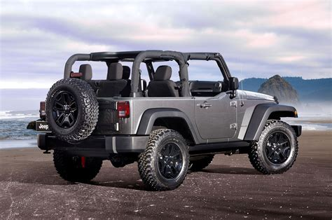 new jeep wrangler jeep wrangler gets new packages refined looks for 2016