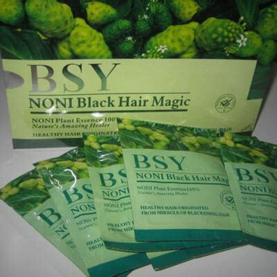Sho Bsy Yang Asli sho noni asli jual bsy noni black hair magic termurah