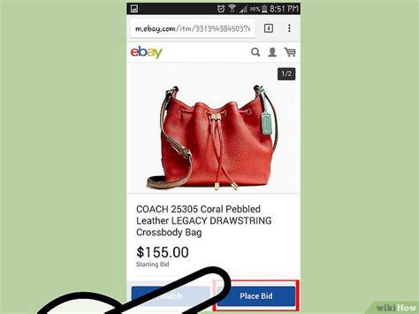 ebay bid 3 modi per fare un offerta su ebay wikihow