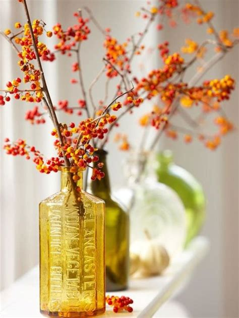 Fall Vases by 8 Fall Centerpieces For Your Home Omg Lifestyle