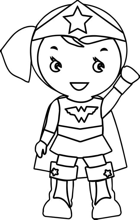 wonder girl coloring page coloring pages of wonder woman woman cartoon coloring page