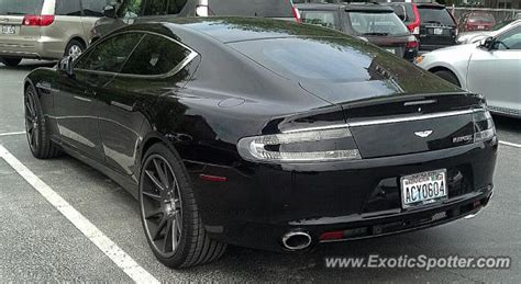 Seattle Aston Martin by Aston Martin Rapide Spotted In Seattle Washington On 05