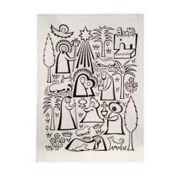 girard oversized nativity greeting card for hallmark at 1stdibs