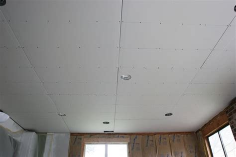 hang drywall ceiling one drywall installation on ceiling 2