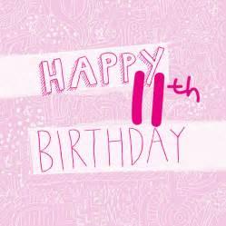happy 11th birthday s card by megan notonthehighstreet