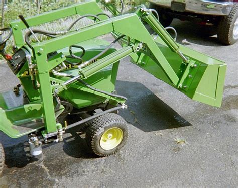 Garden Tractor Loader by Lawn Tractor Loader Plans Pictures To Pin On Pinsdaddy