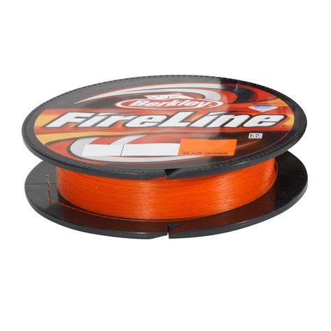 Berkley Fireline Fused Superline 4lb 125yd 1 berkley fireline orange braid 4lb 4 125yd beading thread braided line bflfs4 80 ebay