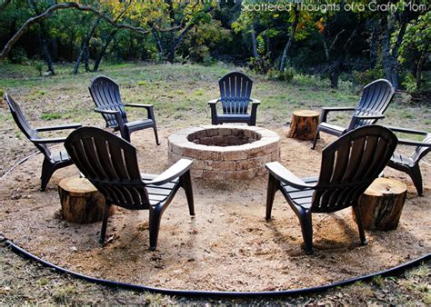 How To Make An Outdoor Firepit How To Build A Firepit For Your Outdoor Space Scattered Thoughts Of A Crafty By Sanders