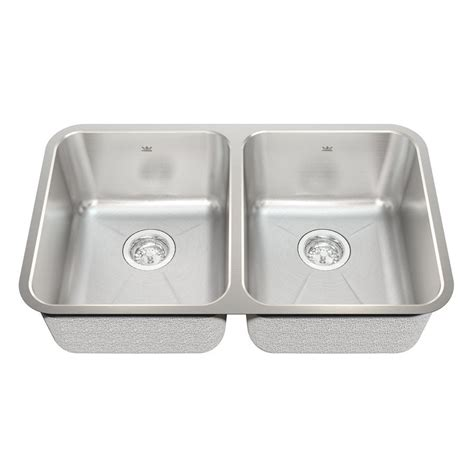 Kindred Kitchen Sinks Kindred 18 Undermount Stainless Steel Kitchen Sink