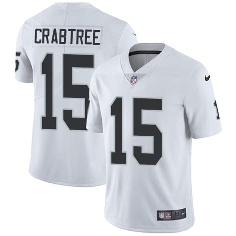 youth michael crabtree 15 jersey a lifetime p 1594 limited nike youth michael crabtree white road jersey