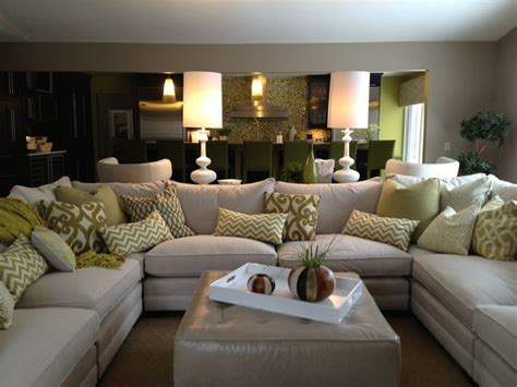 Family Sectional Sofa Best 25 U Shaped Sectional Ideas On Pinterest