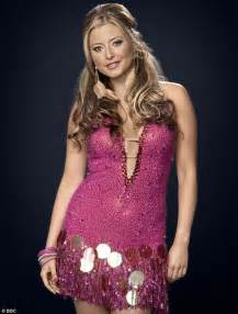 Holly Valance Strictly Come Dancing Participants Contestants Partners Strictly Come Dancing