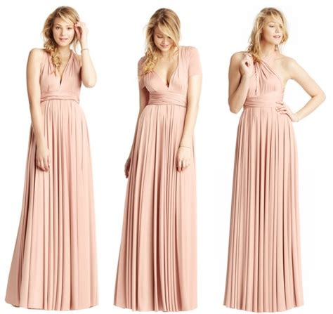 Bridesmaid Dresses For Different Sizes - bridesmaid dress guide one color many styles inc