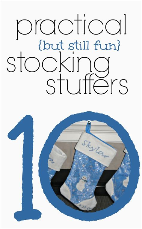 great stuffer ideas stuffer ideas that are practical and