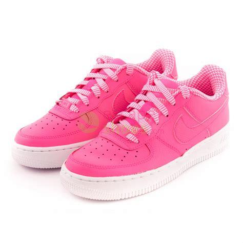 Nike Airforce One Putih Pink sneakers nike air 1 gs pink pow white 314219 615