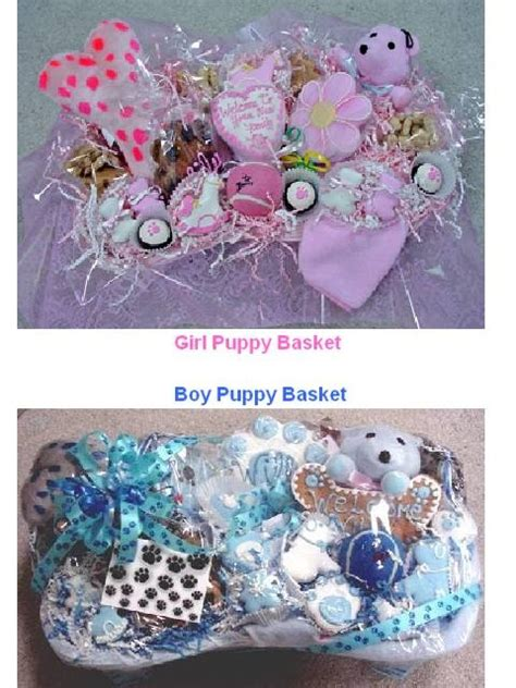 new puppy gifts welcome new puppy gift basket for the dogs