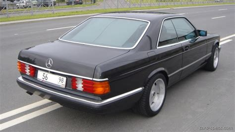 1990 mercedes 560 class coupe specifications