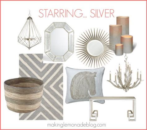 gold and silver home decor go for the gold and silver bronze copper