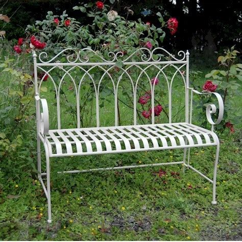 cream garden bench kings cream metal garden bench homegenies
