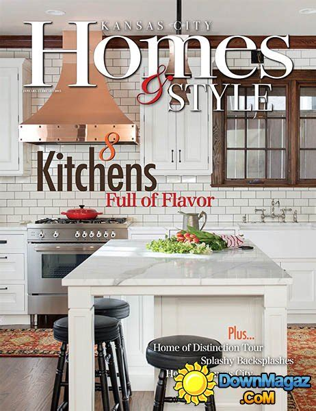 kansas city home design magazine kansas city homes style january february 2016
