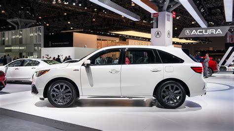2020 Acura Mdx Ny Auto Show by 2019 Acura Mdx A Spec Debuts At 2018 New York Auto Show