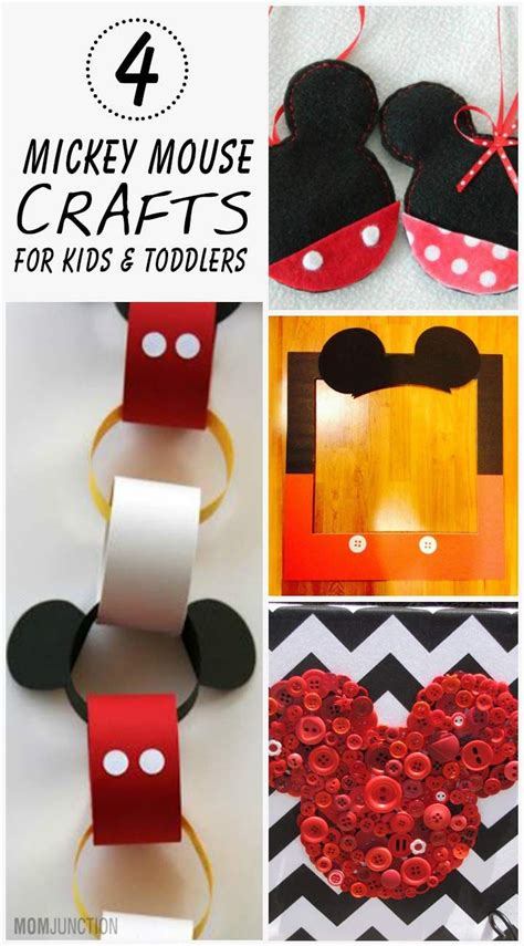 mickey mouse crafts for 4 creative mickey mouse crafts for toddlers