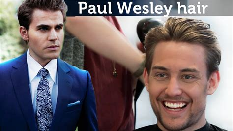Paul Wesley Hairstyle by Paul Wesley Hair Tutorial Awesome S Hairstyle