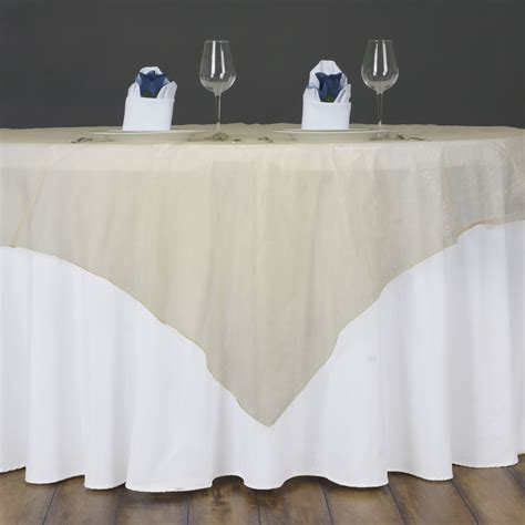 organza table overlays 10 pc 72x72 quot sheer organza table overlays wedding decorations wholesale ebay
