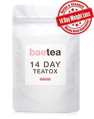 Baetea Detox by Baetea 14 Day Weight Loss Tea Detox Cleanse