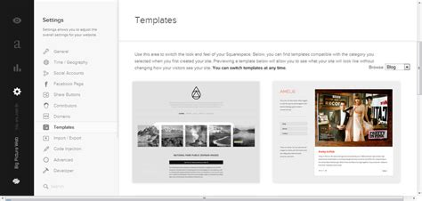 Squarespace Templates Your Guide To Planning Squarespace Design Big Picture Web How To Use Squarespace Templates