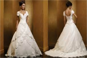 wedding dresses with the shoulder sleeves shoulder wedding dresses with cap sleeves