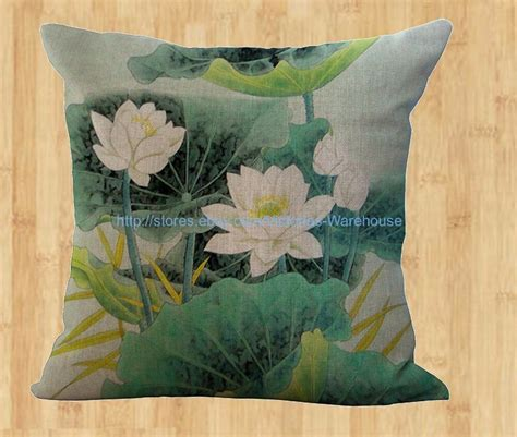 cheap throw pillow covers cheap outdoor throw lotus flower cushion cover decorative