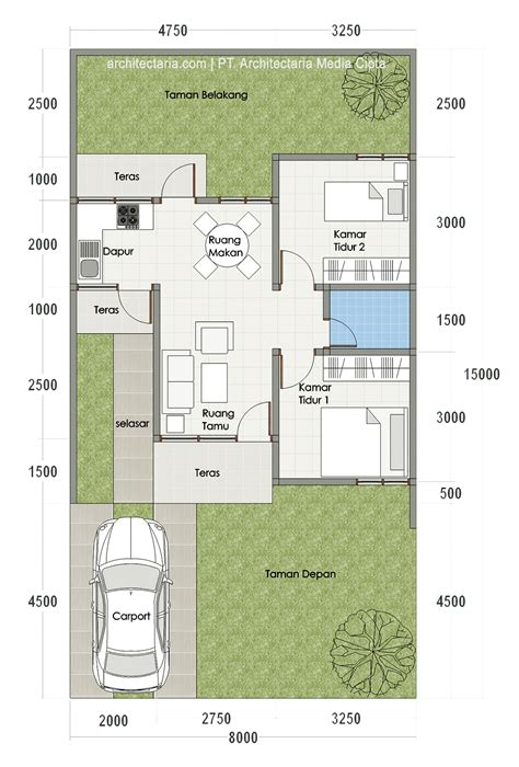 desain layout rumah type 54 61 desain rumah minimalis type 54 desain rumah minimalis
