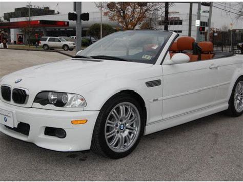 2003 bmw 3 series convertible white bmw 3 series convertible used cars in houston