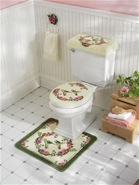 hummingbird bathroom accessories hummingbird bathroom toilet accessories 3 pc from