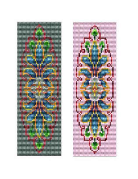 loom beading books bead loom vintage motif 6 bracelet pattern pdf