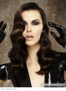 hairsryles for with waves fabulous finger waves holiday hairstyle