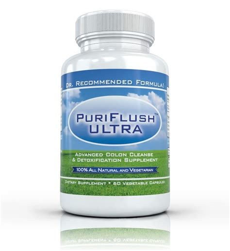 Nature Detox Colon Cleanse Pills by Puriflush Ultra All Complete Colon Cleanse Bowel
