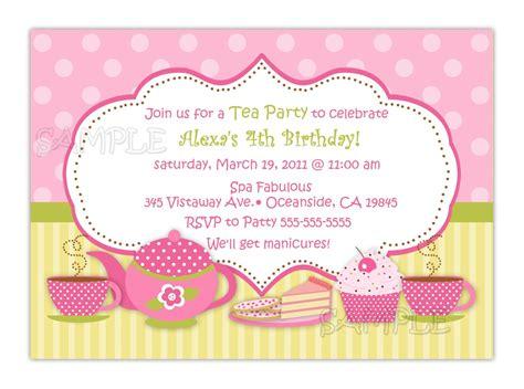 tea party baby shower invitations ideas sensational invitation