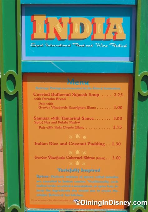 Buku Masak Food And Wine 2007 2007 epcot international food and wine festival menus and pictures dining in disney