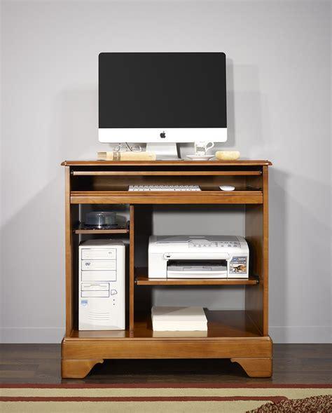 bureau en informatique petit bureau informatique en merisier de style louis