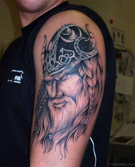 incredible tattoos 57 magnifying viking tribal shoulder tattoos