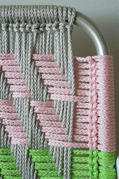 Macrame How To - woven macram 233 chair tutorial diy v 230 vning