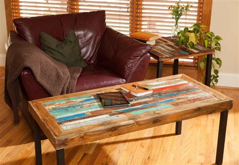 reclaimed wood living room tables buy a made reclaimed wood coffee table teak coffee